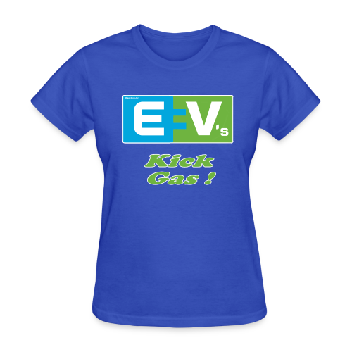 Women's Standard T- EV2 kicks Front - Women's T-Shirt
