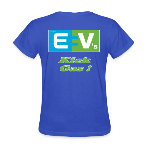 Women's Standard T- EV2 kicks Back - Women's T-Shirt