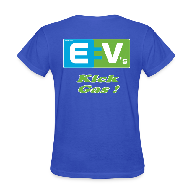 Women's Standard T- EV2 kicks Back