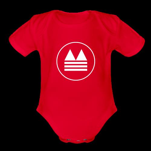 Clouds Onesie - Organic Short Sleeve Baby Bodysuit