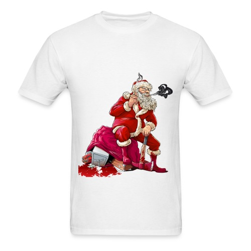 JyeNa Inc. Bad Santa Xmas - Men's T-Shirt