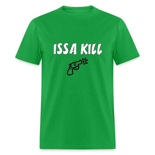 Men's Issa Kill T Shirt : bright green - Men's T-Shirt
