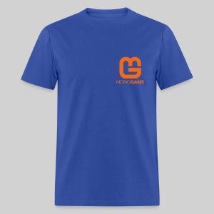 Pocket Logo Blue Tee - Men's T-Shirt