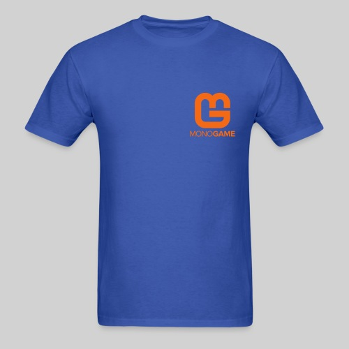 Pocket Logo Blue Tee - Men's T-Shirt