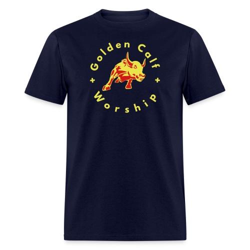 Golden Calf Worship - Men's T-Shirt