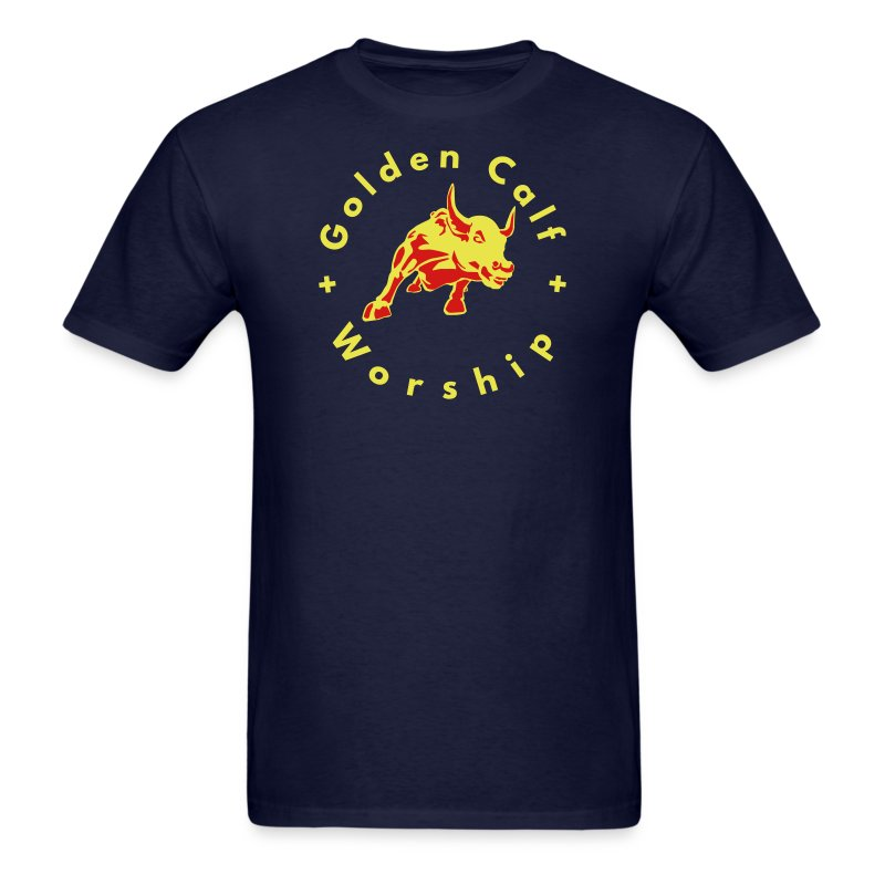 Golden Calf Worship - Men's T-Shirt