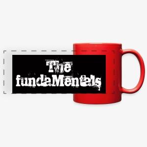 'Mentals Logo coffee mug - Full Color Panoramic Mug