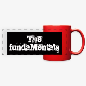 'Mentals Logo coffee mug - Full Color Panoramic Mug