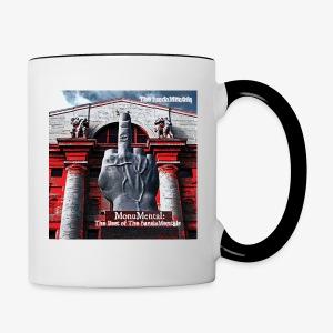 MonuMentalalbum cover coffee mug - Contrast Coffee Mug