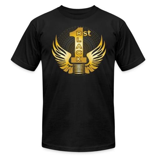 Boss Playa Black First Gold T-Shirt - Men's  Jersey T-Shirt