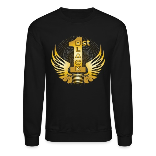 Boss Playa Black First Gold Sweater - Crewneck Sweatshirt