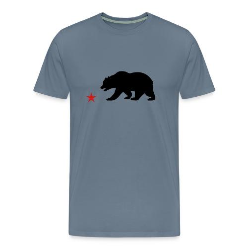 CALIFORNIA BEAR TEE - Men's Premium T-Shirt