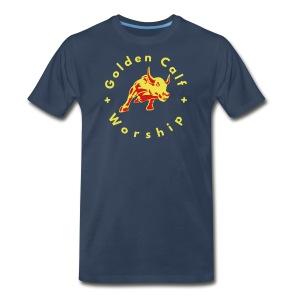 Golden Calf Worship - Men's Premium T-Shirt