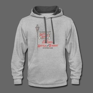 Alban's Bottle and Basket - Birmingham Michigan - Contrast Hoodie
