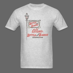 Alban's Bottle and Basket - Birmingham Michigan - Men's T-Shirt