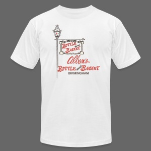 Alban's Bottle and Basket - Birmingham Michigan - Men's T-Shirt by American Apparel