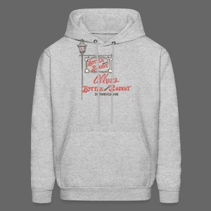 Alban's Bottle and Basket - Birmingham Michigan - Men's Hoodie