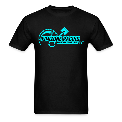 Blue Logo - Men - Men's T-Shirt
