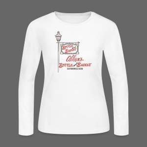 Alban's Bottle and Basket - Birmingham Michigan - Women's Long Sleeve Jersey T-Shirt