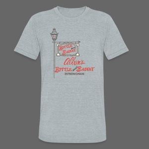 Alban's Bottle and Basket - Birmingham Michigan - Unisex Tri-Blend T-Shirt