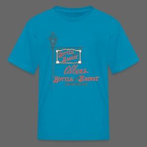 Alban's Bottle and Basket - Birmingham Michigan - Kids' T-Shirt