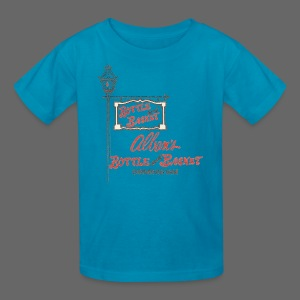 Alban's Bottle and Basket - Birmingham Michigan - Kids' T-Shirt