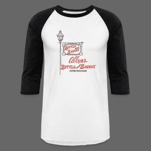 Alban's Bottle and Basket - Birmingham Michigan - Baseball T-Shirt
