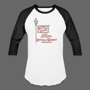 Alban's Bottle and Basket - Birmingham Michigan - Baseball T-Shirt