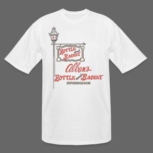 Alban's Bottle and Basket - Birmingham Michigan - Men's Tall T-Shirt