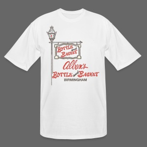 Alban's Bottle and Basket - Birmingham Michigan - Men's Tall T-Shirt