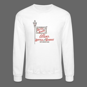 Alban's Bottle and Basket - Birmingham Michigan - Crewneck Sweatshirt
