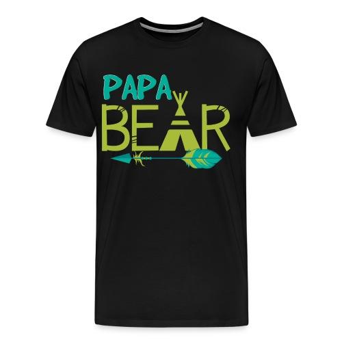 Papa Bear  - Men's Premium T-Shirt