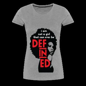 Defined Tee - Women's Premium T-Shirt