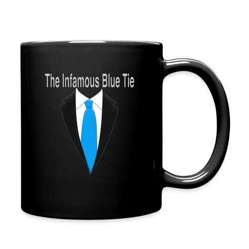 Infamous Blue Tie Coffee Mug - Full Color Mug