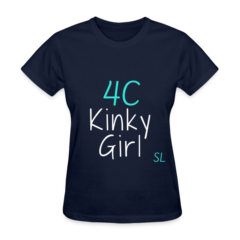 Natural Kinky 4C Hairstyles T- shirt by Stephanie Lahart #1  - Women's T-Shirt