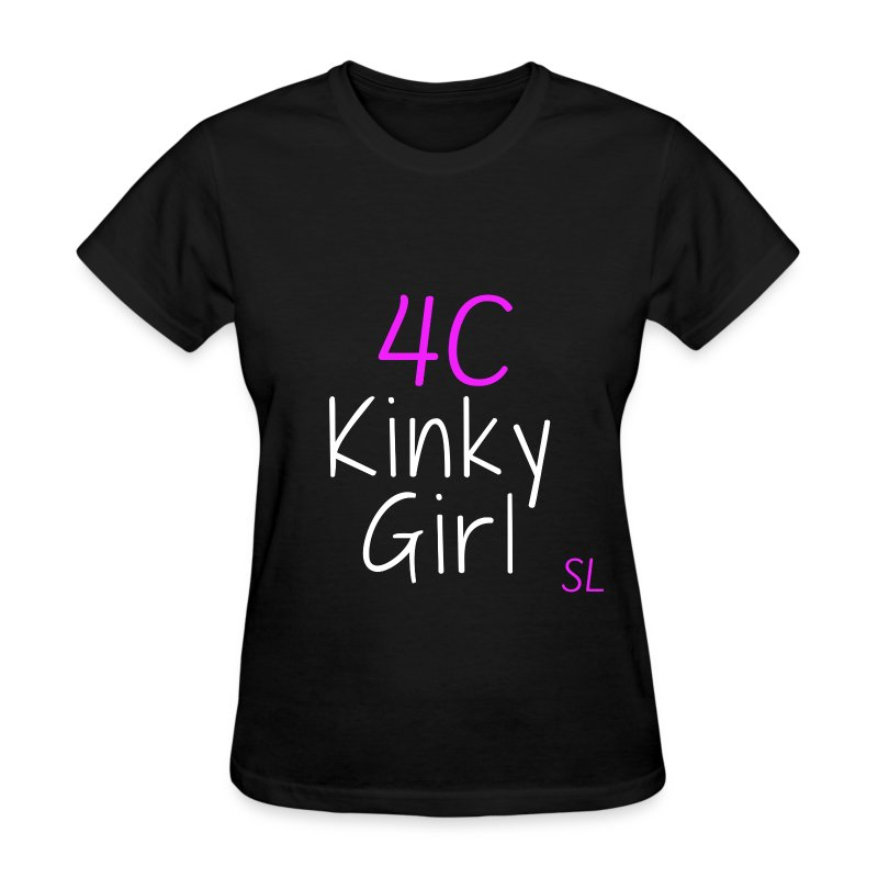 Natural Kinky 4C Hairstyles T- shirt by Stephanie Lahart #2 - Women's T-Shirt