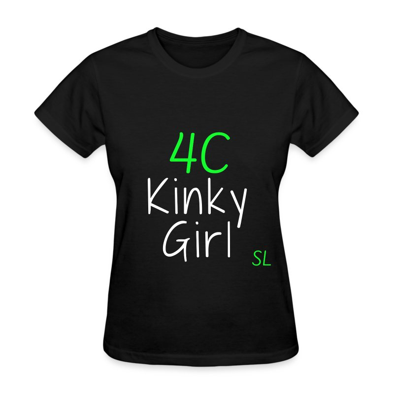 Natural Kinky 4C Hairstyles T- shirt by Stephanie Lahart #3 - Women's T-Shirt