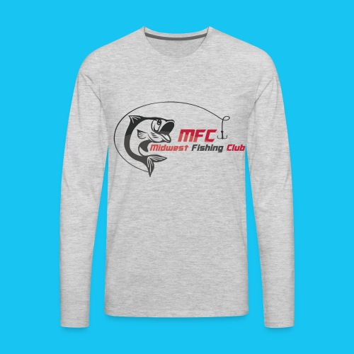 MFC Logo LS Gray - Men's Premium Long Sleeve T-Shirt