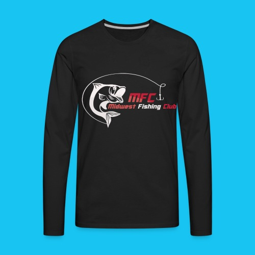 MFC Logo LS Black - Men's Premium Long Sleeve T-Shirt