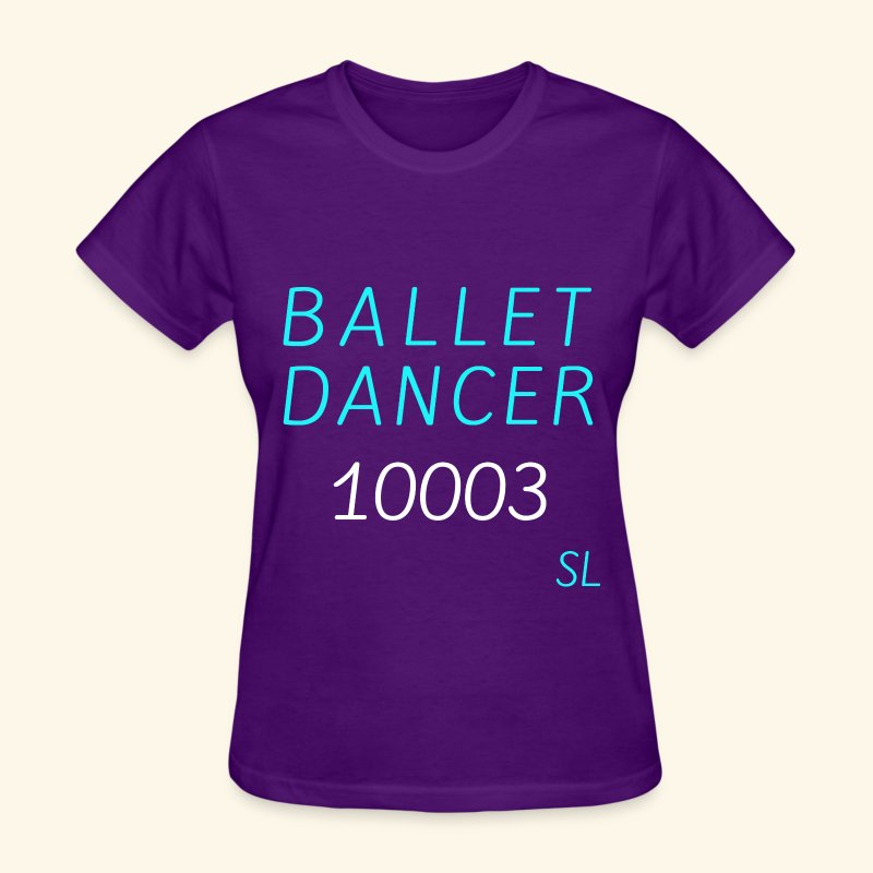 New York, NY 10003 Ballet Dancer T-shirt Clothing by Stephanie Lahart.  - Women's T-Shirt