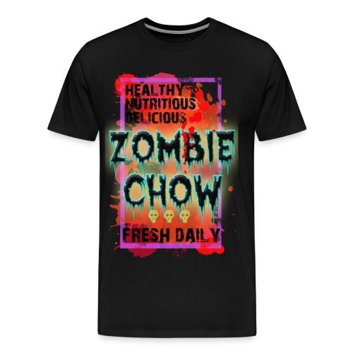 Zombie Chow Men's T - Men's Premium T-Shirt