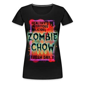 Zombie Chow Women's T - Women's Premium T-Shirt