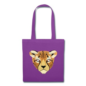 Cheetah Tote by Lisa Vanin - Tote Bag