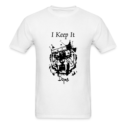 I Keep It King Tiger T by The Iyse Gibson Brand - Men's T-Shirt