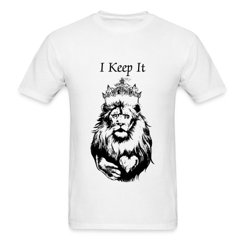 I Keep It King Lion T by The Iyse Gibson Brand - Men's T-Shirt