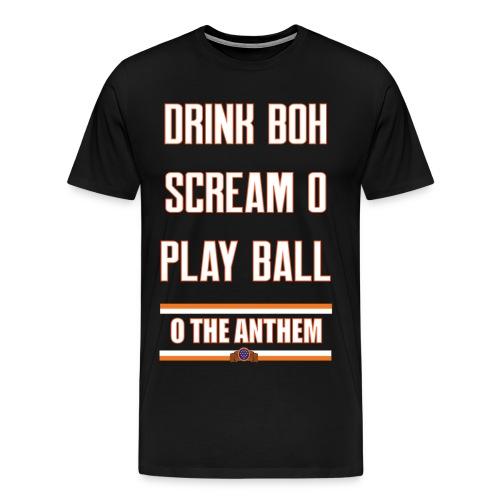 Rules for Summer black men's - Men's Premium T-Shirt