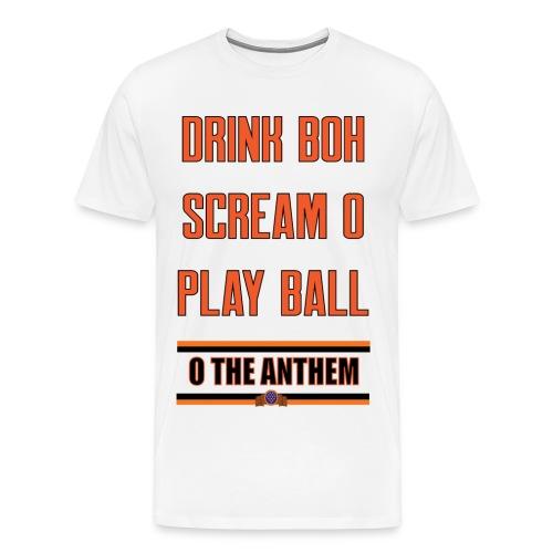 Rules for Summer white men's - Men's Premium T-Shirt