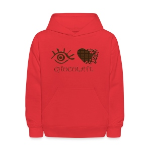 Eye-Love Chocolate - Kids' Hoodie