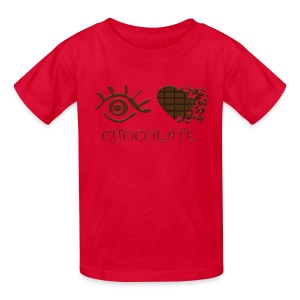 Eye-Love Chocolate - Kids' T-Shirt