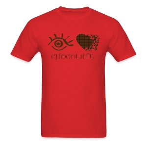 Eye-Love Chocolate - Men's T-Shirt